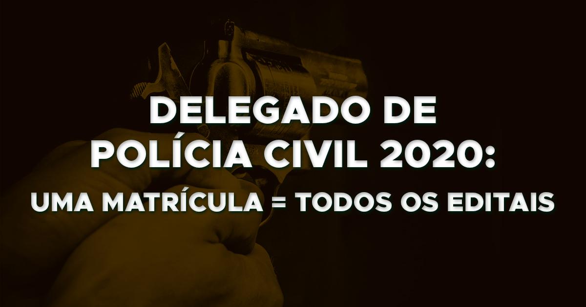 Delegado de Polícia Civil 2020: O que esperar?
