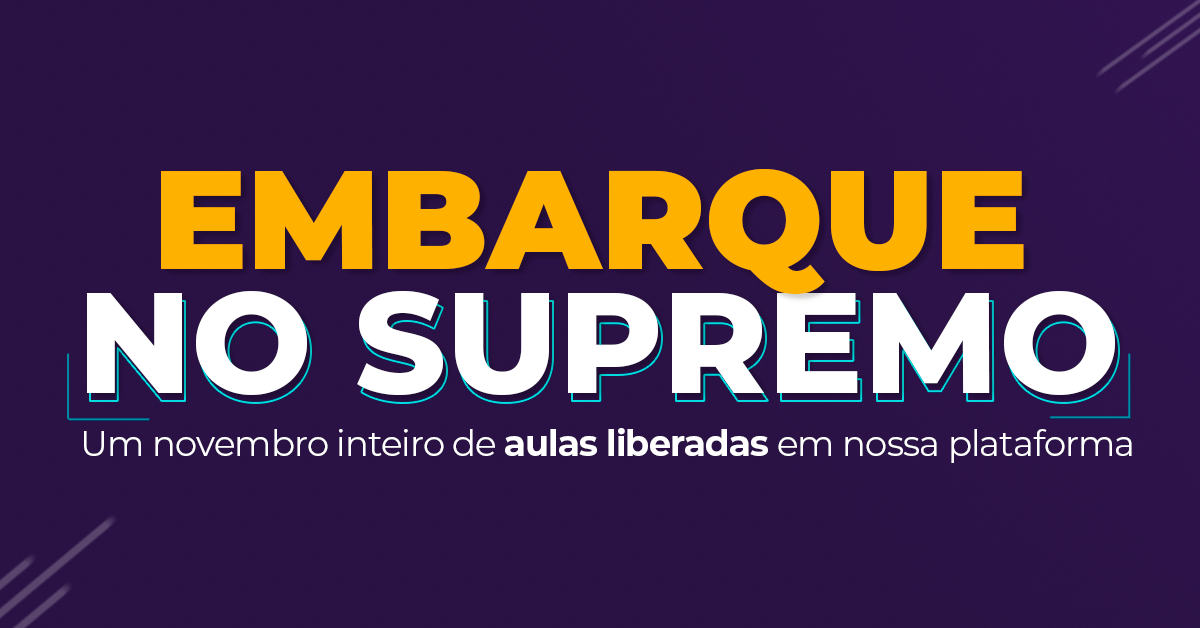 Embarque no Supremo