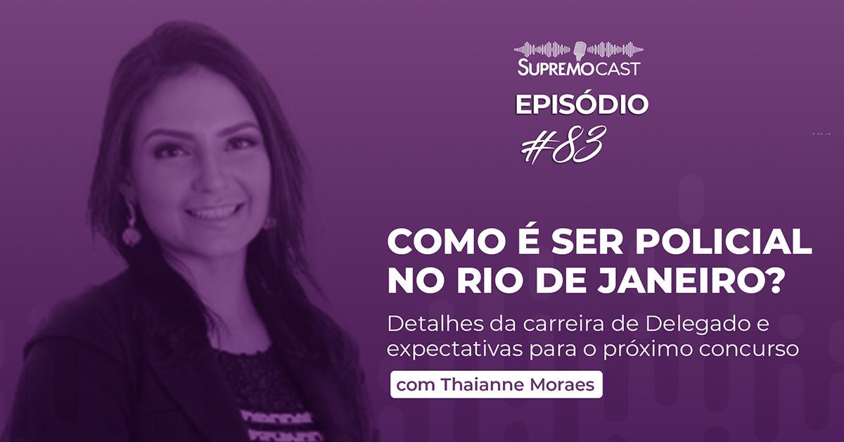 SupremoCast – Como é ser policial no Rio de Janeiro?
